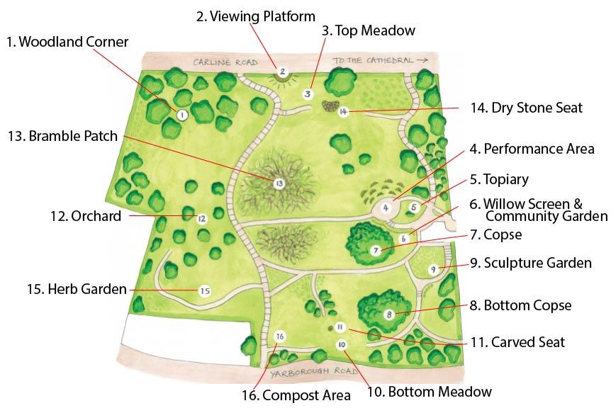 Liquorice Park map